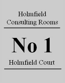 Holmfield Consulting Rooms Logo